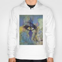 gothic Hoodies featuring Gothic Art by Michael Creese