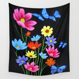 Wildflowers-3 Wall Tapestry