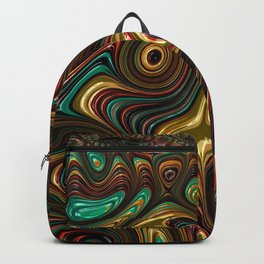Trippy Fractal Backpack