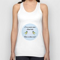 tits Tank Tops featuring About Tits by Pavlito