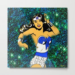 From Girl to Woman to Wonder Metal Print