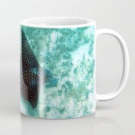 Watercolor Ray, Spotted Eagle Ray 39, St John, USVI Coffee Mug