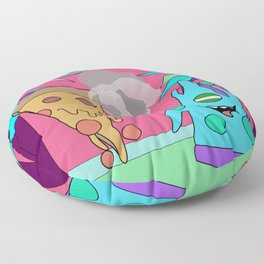 Pizza Planet Floor Pillow