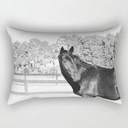 Black & White Bubba Rectangular Pillow