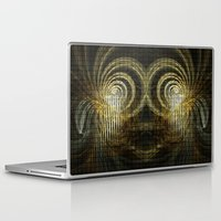 mask Laptop & iPad Skins featuring Mask by Armine Nersisian