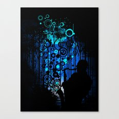 In the Keynote of Blue Canvas Print