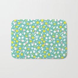 Rabbit Fun Pattern Bath Mat