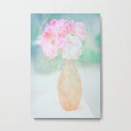 de belles fleurs Metal Print