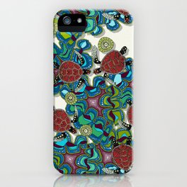 turtle reef iPhone Case