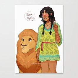 Rhea - Spread the Love Canvas Print
