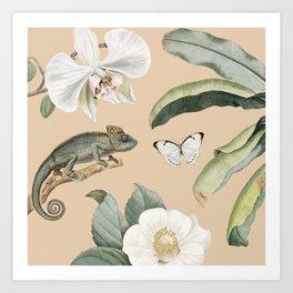 Camaleo Art Print