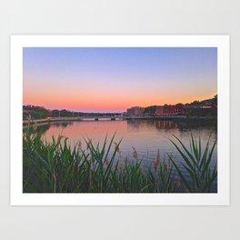 Connecticut Art Print