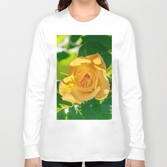 Gold rose Long Sleeve T-shirt