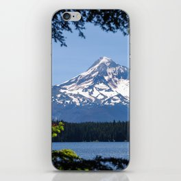 Mount Hood from Lost Lake iPhone Skin