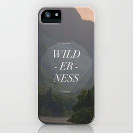 WILDERNESS — iPhone Case