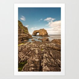 Great Pollet Sea Arch Art Print