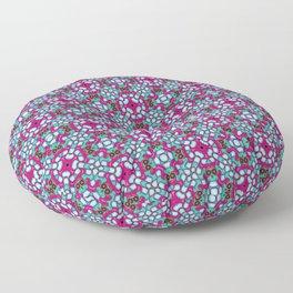 Blue Nucleus Floor Pillow