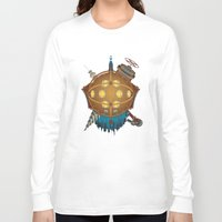 bioshock Long Sleeve T-shirts featuring Bioshock tribute by Javier Robles