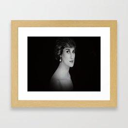 London Princess Diana Framed Art Print