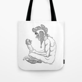 The Defamation of Normal Rockwell I (NSFW) Tote Bag