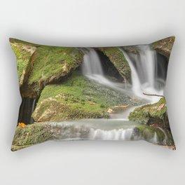 Mossy Rohrbaugh Waterfall Rectangular Pillow