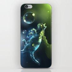 Aqua Apparition iPhone & iPod Skin