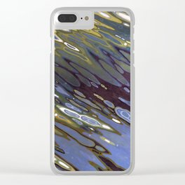 Desert Oasis Clear iPhone Case