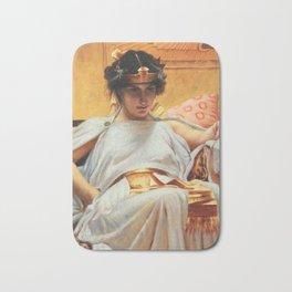 John William Waterhouse Cleopatra Bath Mat