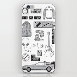 McFly Icons - Back to the Future iPhone Skin