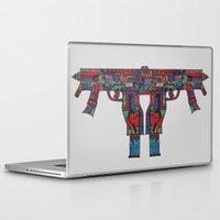 guns Laptop & iPad Skins featuring Guns by Sharif El Fatatry