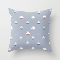 Yacht Throw Pillow