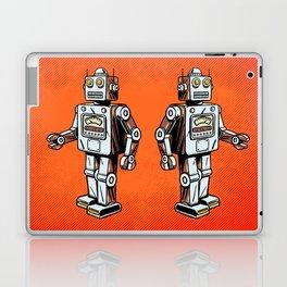 Retro Robot Toy Laptop & iPad Skin