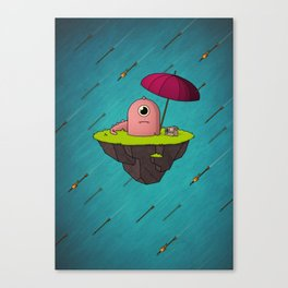 Lonely Island Canvas Print