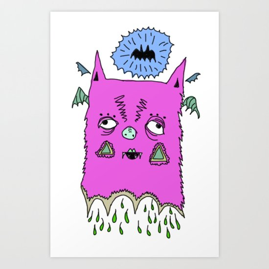 Murciélago#2 Art Print