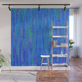 with green, 5 Wall Mural