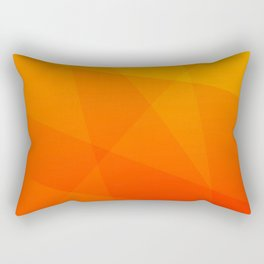 Orange Sunset Rectangular Pillow