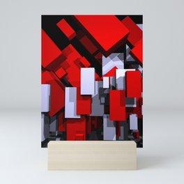 boxes - portrait format Mini Art Print