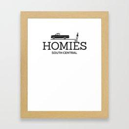 Homie South Central - My Homies Framed Art Print