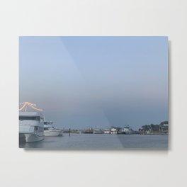 Boats at the bay at Nelsons Bay, NSW, Australia Metal Print
