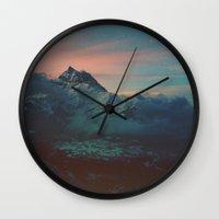 garden Wall Clocks featuring Garden by Daniel Montero