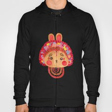 The Flower Crown Bunny Hoody