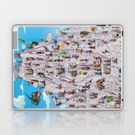 Bubble climbing Laptop & iPad Skin
