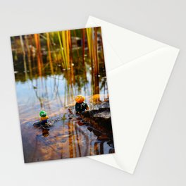 gwerg with friends 1 Stationery Cards