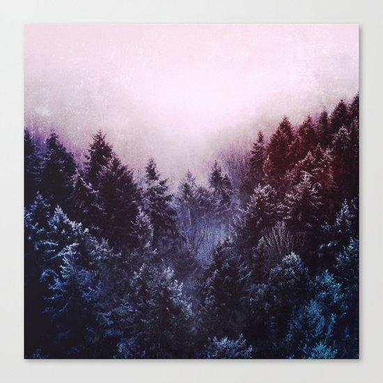 Winter sound Canvas Print