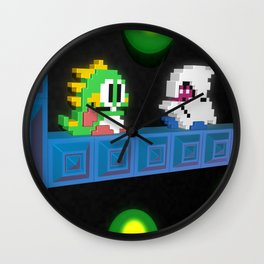 Inside Bubble Bobble Wall Clock
