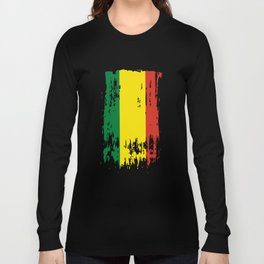 BO BOL Bolivia Flag Long Sleeve T-shirt