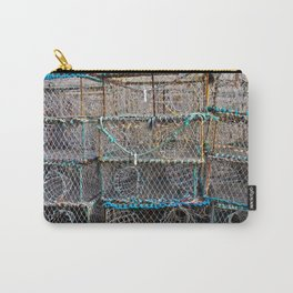 Lobster Cages Carry-All Pouch