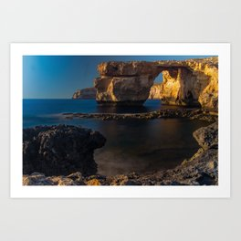 Azure Window Art Print