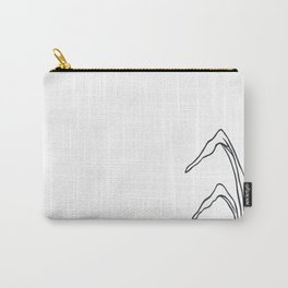 Paper-cut Cattail Carry-All Pouch