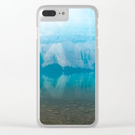 Misty Morning Canvas Clear iPhone Case